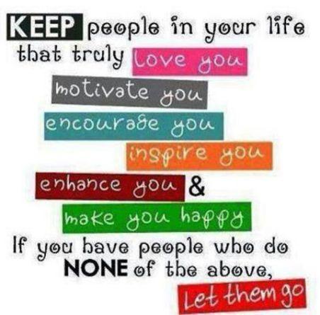 Keep people
