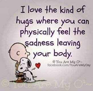 I love the kind of hugs
