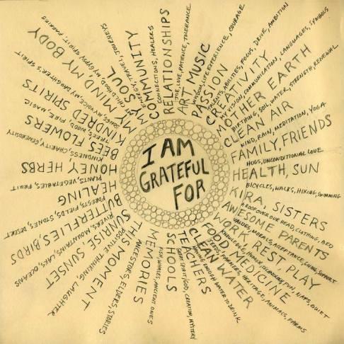 I'm grateful for - The Secret