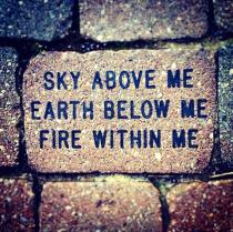 Sky, Earth, Fire