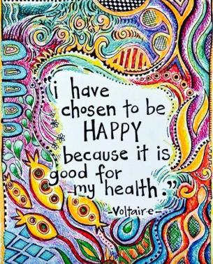 Voltaire's happy