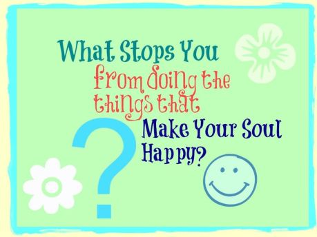What stops you