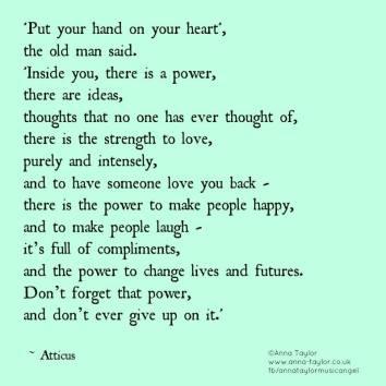 Atticus and power