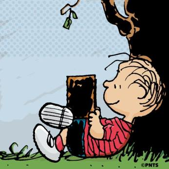 Peanuts Happiness Is Reading