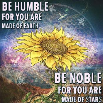 Be humbe, be noble