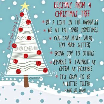 Christmas tree lessons