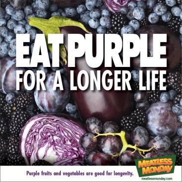 Eat purple