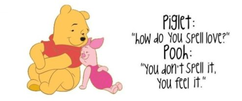 Pooh - how do you spell love