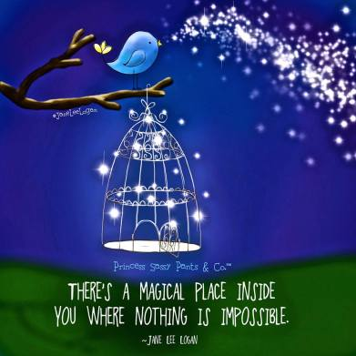 There's a magical place inside you