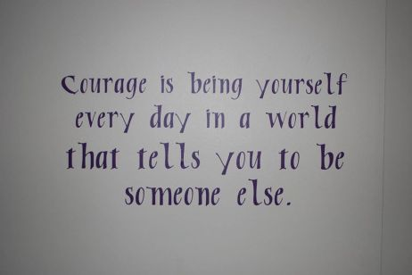 Courage is - Bully Project
