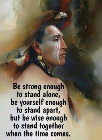 Be strong Be yourself Be wise