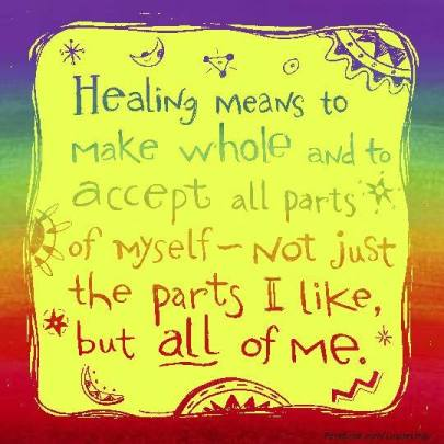 What healing means