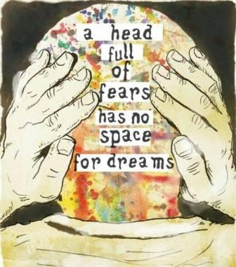 A head full of fears
