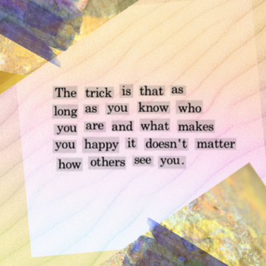 The trick is